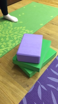 yoga bricks and blocks image