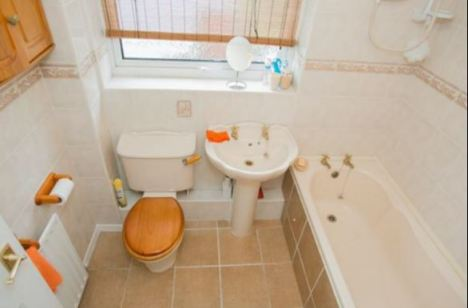old bathroom image
