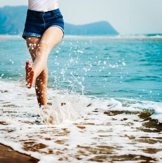 summer beach image