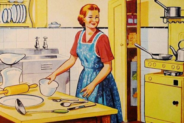 vintage kitchen image 1