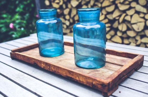 blue jars image 1