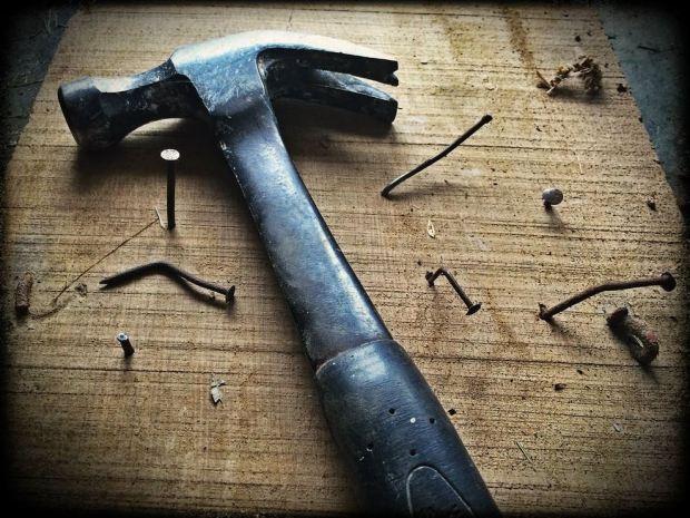 hammer and nails image